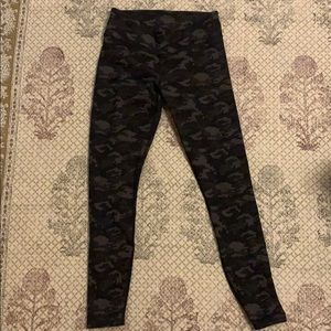 Fabletics camo leggings- size S